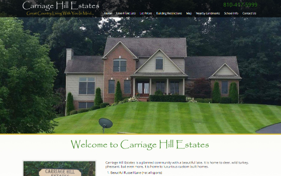 Visit Carriage Hill Estates.com. This link opens new window.