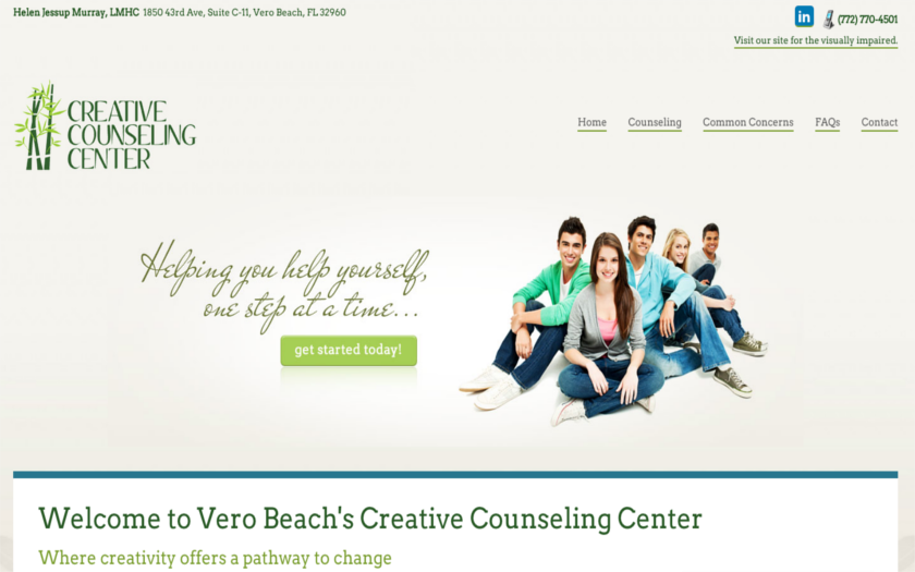 Creative Counseling Center. This link opens new window.