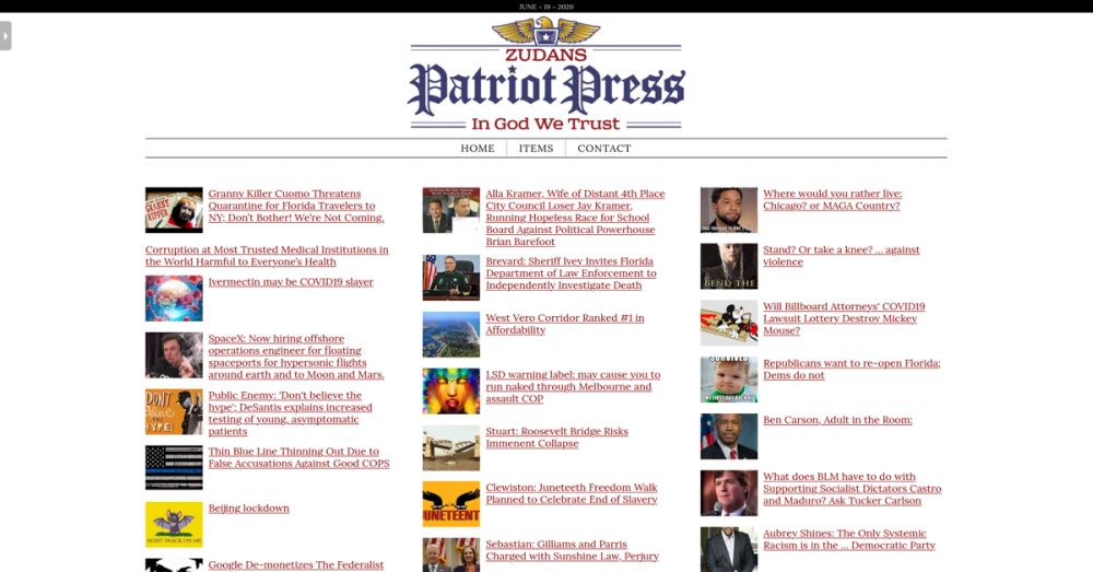 Zudan's Patriot Press